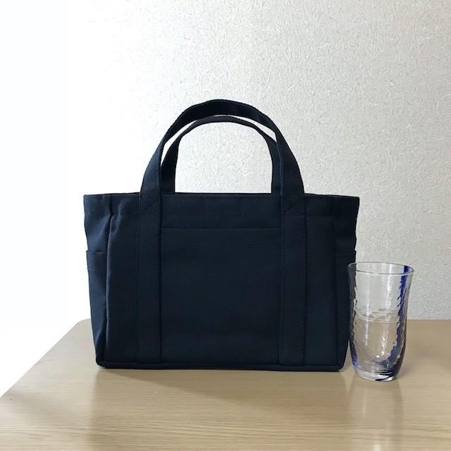 (受注生産)「ポケットトート」小サイズ「キャニオンレッド」倉敷帆布8号