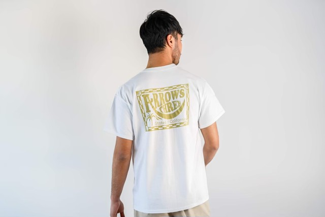 【6/24(wed)21:00販売開始】ThreeArrows CAL S/S TEE (white)