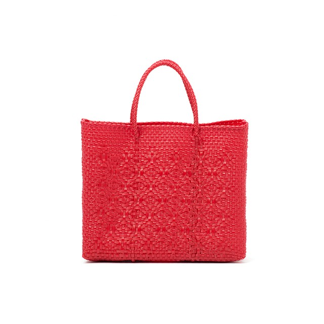 MERCADO BAG ROMBO-Red(XS)