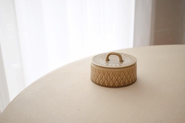 Relief sugar pot(Jens Quistgaard)