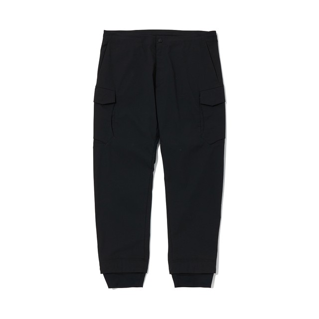 SOLOTEX NO STITCHING CARGO PANTS - BLACK