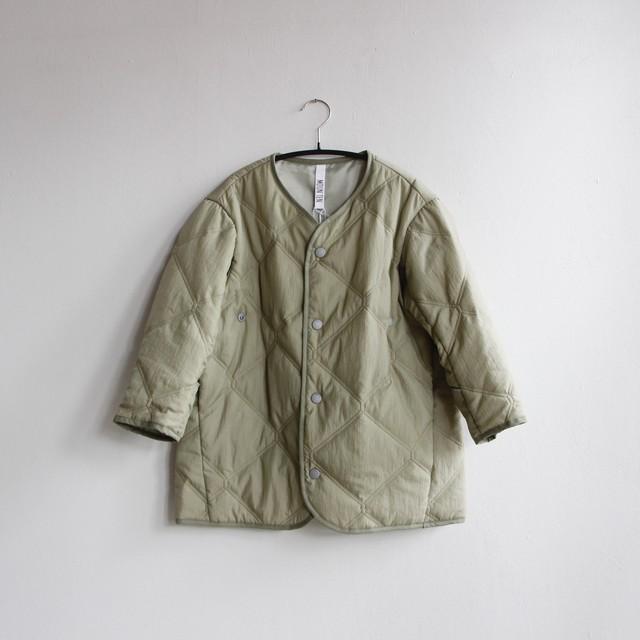 《MOUNTEN. 2020AW》quilt mitten coat / sage green