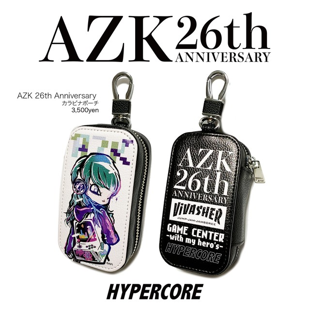 "A-363L 澁谷梓希×HYPER COREコラボレーション""GAME CENTER""カラビナポーチ"