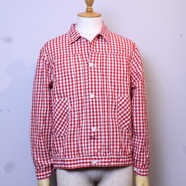"NECESSARY or UNNECESSARY(ネセサリーオアアンネセサリー) ""SUMMER STORES GINGHAM"""