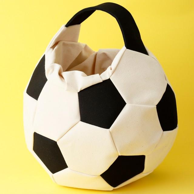 [限定アイテム] Ore / サッカーボールバッグ 白黒 XL