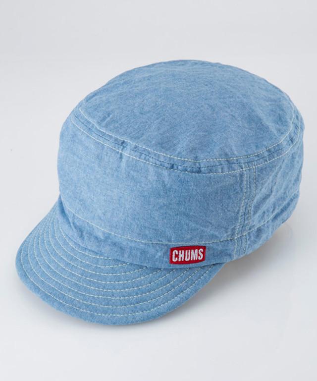 2018年春夏新作 CHUMS (チャムス) TG Cap (TGキャップ) Chambray (シャンブレー) CH05-1071