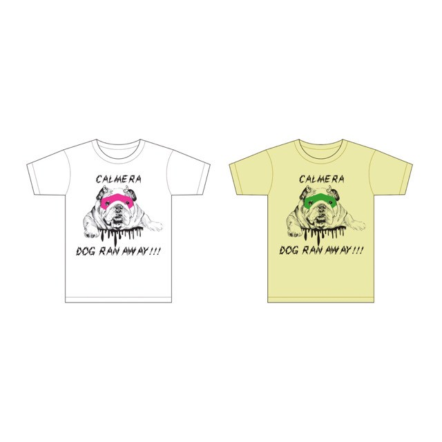 犬、逃げた。Tシャツ-ver.3.0-【Lサイズのみ/更に値下げしました!】※残り3点