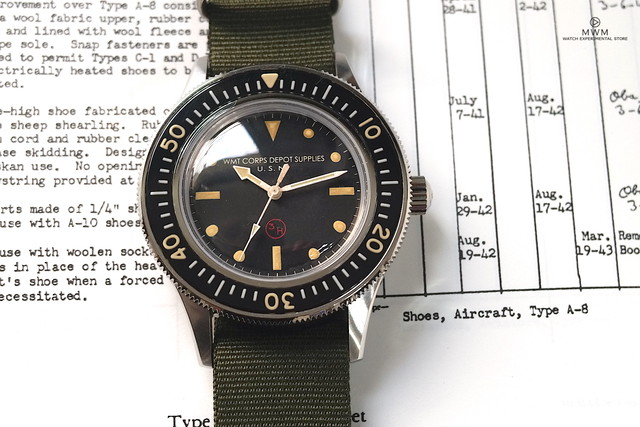 【限定】WMT WATCH Seawolf –3H Vintage Diver Edition / Limited 50 pc