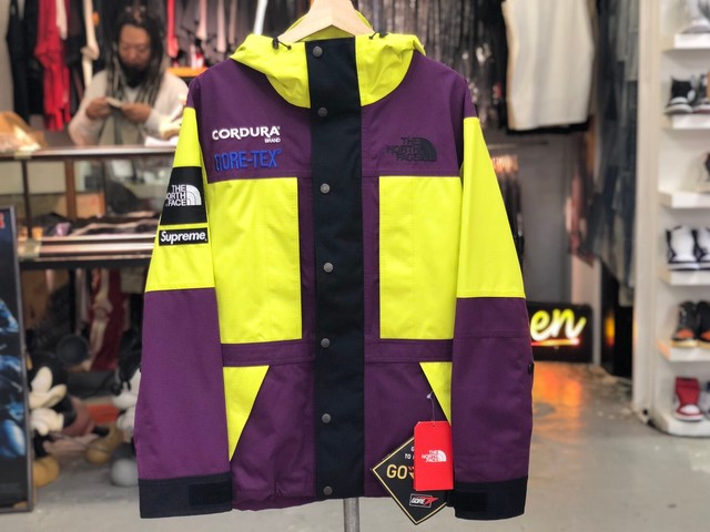 Supreme 18AW THE NORTH FACE EXPEDITION JACKET MEDIUM SULPHUR