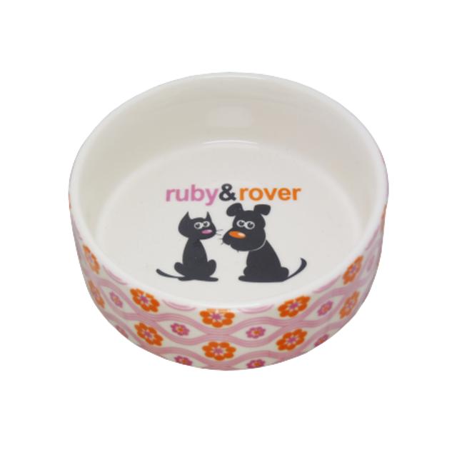 DOGUE 陶器食器  ルビー& ローバー SS ピンク