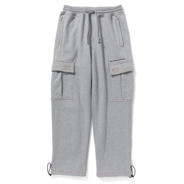 BLACK EYE PATCH / SWEAT CARGO PANTS