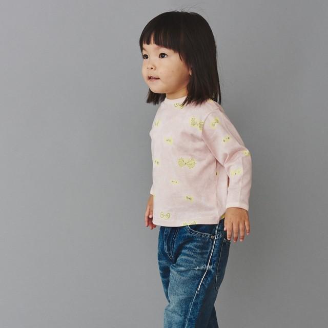《mina perhonen》hana hane 長袖カットソー / light pink