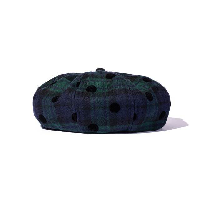 JUST NOISE x Yakanay Collaborated Beret - BLACK WATCH