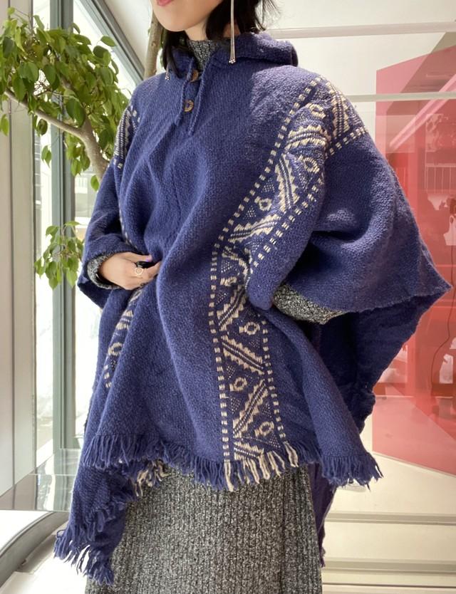 70s boa×knit jacket
