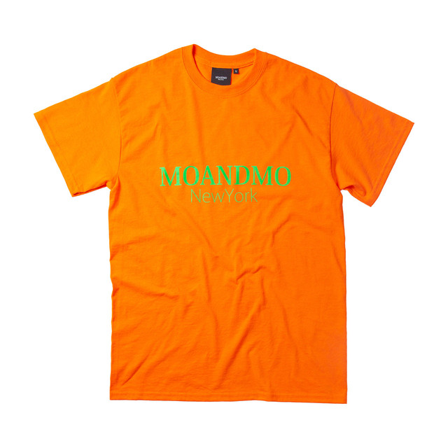 MOANDMO LOGO Tee / Neon Orange