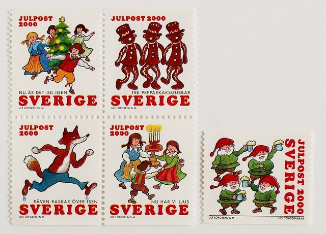 クリスマスシール / スウェーデン 1965・1966