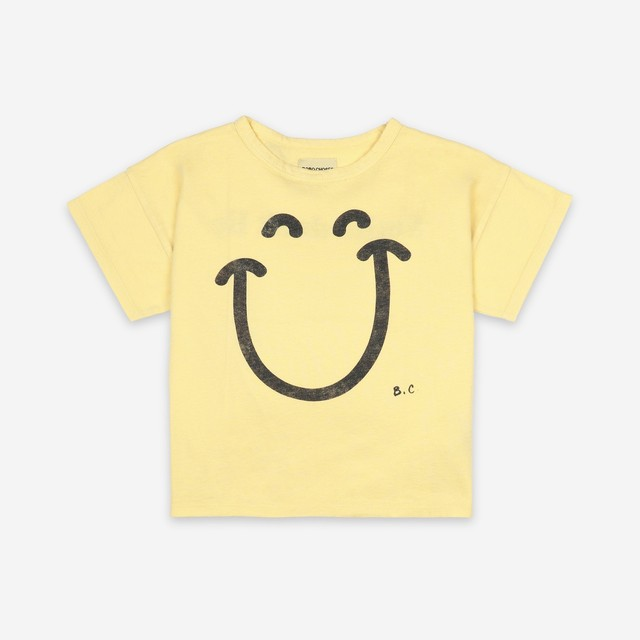 《BOBO CHOSES 2021SS》Big Smile T-Shirt / 2-9Y