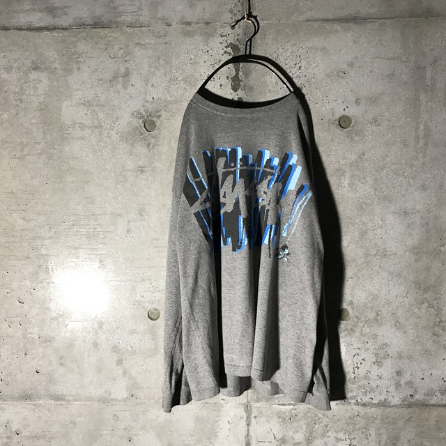 [STUSSY] stussy designed long T-shirt