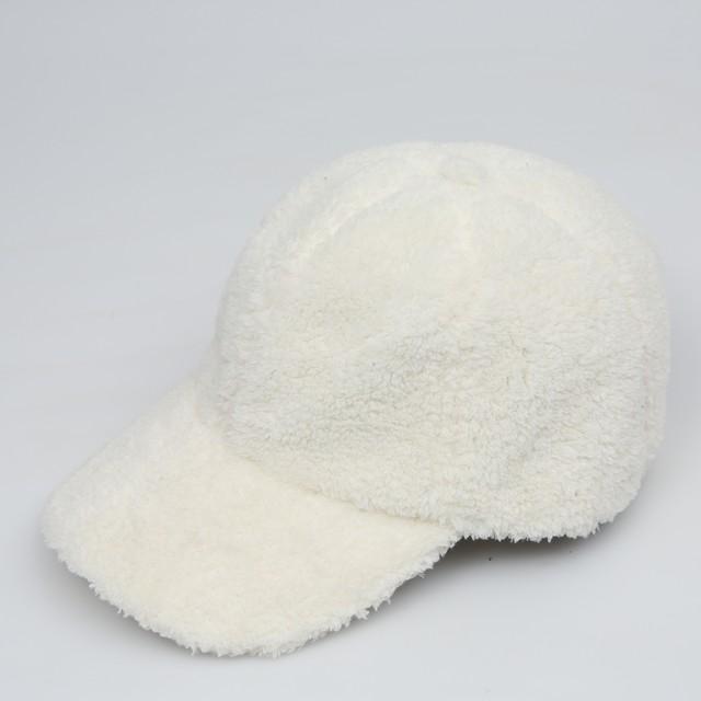 モコモコキャップ / WHITE