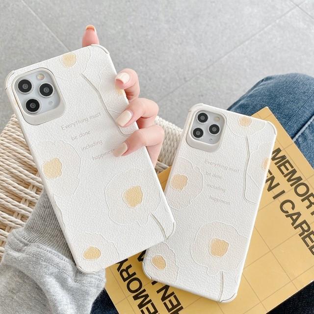 iPhone ケース 韓国 くすみカラーフラワーケース カバー シリコン 個性的 シンプル 大人 可愛い おしゃれ iPhone7 iPhone8 iPhoneSE2 iPhoneX iPhoneXs iPhoneXR iPhone11 iPhone11Pro スマホケース 携帯ケース