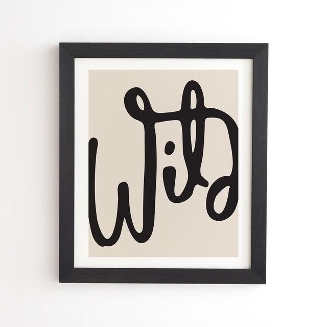 フレーム入りアートプリントWILD ABSTRACT  BY URBAN WILD STUDIO【受注生産品: 10月下旬頃入荷分 オーダー受付中          】