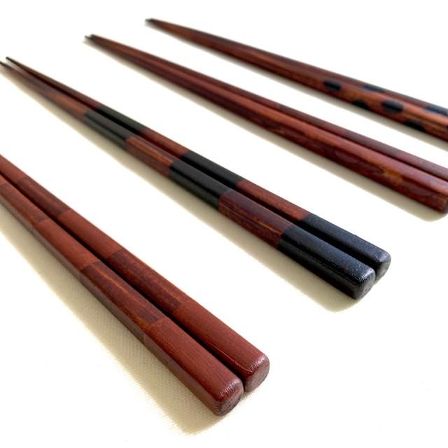 漆の木を植える箸