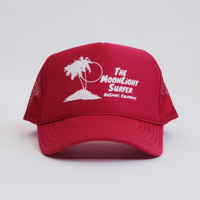 Surfers Mesh Cap (Red)