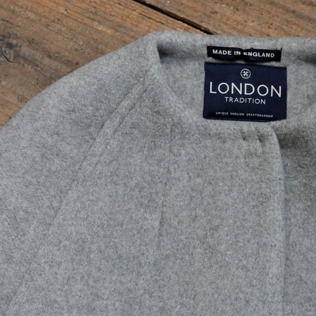 LONDON TRADITION no color coat - gray -
