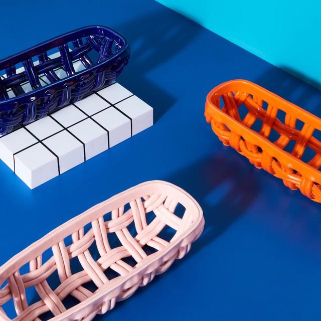 &k amsterdam - Baguette baskets - Pink・Orange