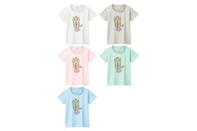 リコーダー猫のTシャツ