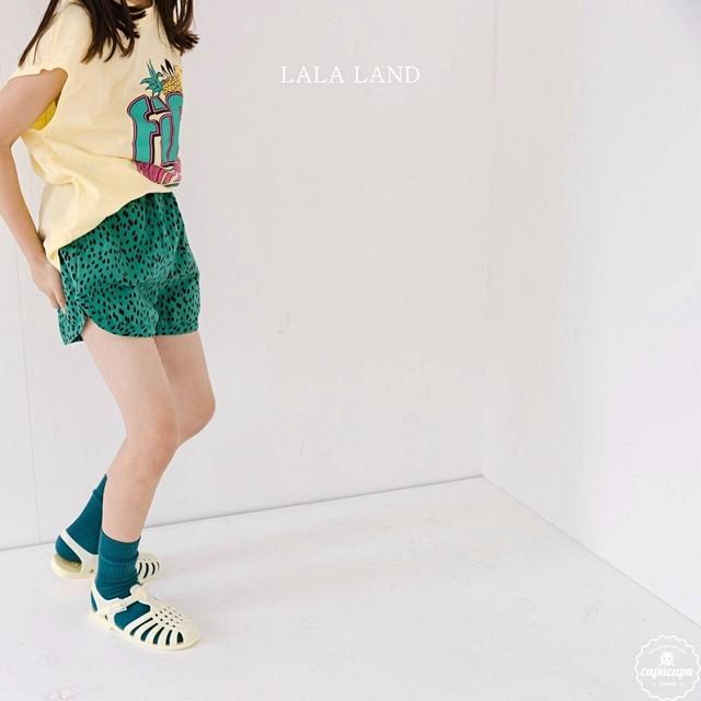 «sold out» LALA LAND leopard shot pants 3colors レオパードショートパンツ