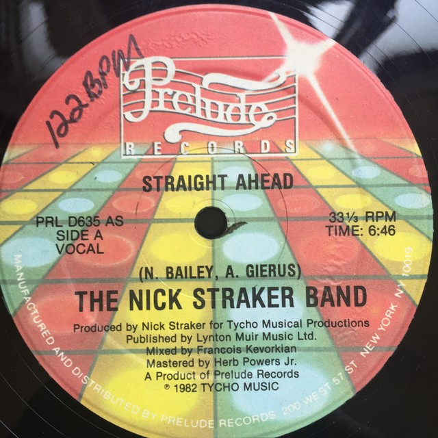 The Nick Straker Band – Straight Ahead