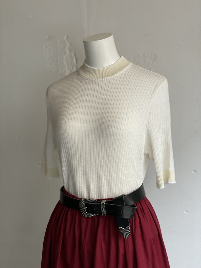 made in Germany vintage rib summer  knit