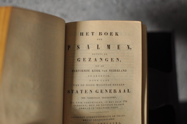 オランダ聖書1884年 | landschapboek