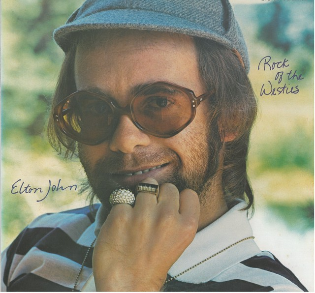 ELTON JOHN / ROCK OF THE WESTIES (LP) 日本盤