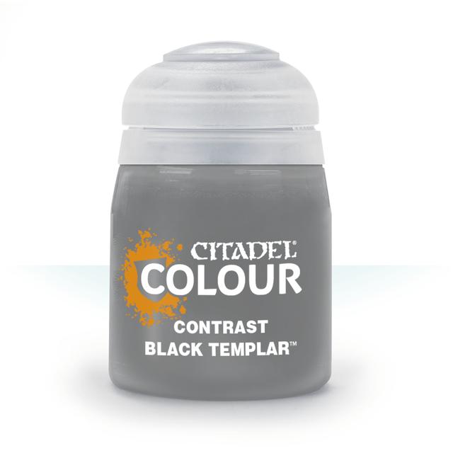Games Workshop ゲームズワークショップ シタデル CONTRAST: BLACK TEMPLAR (18ML) [シタデル コントラスト]C-3