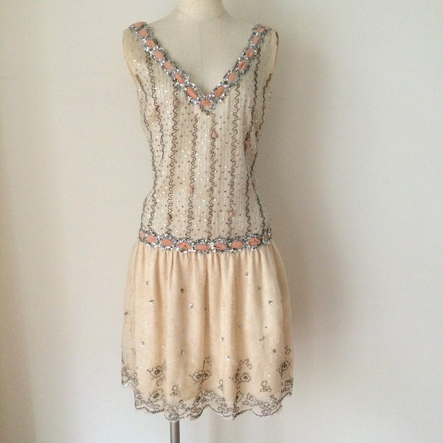 Blugirl スパンコール付ドレス