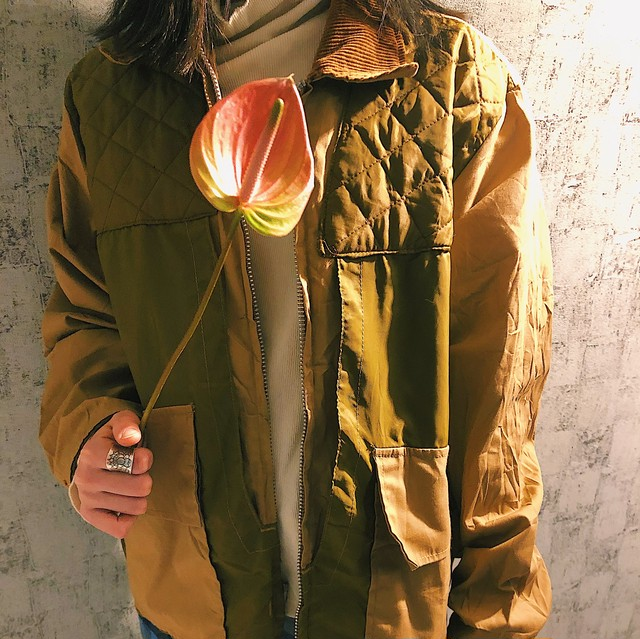 70s【GAME WINNER】hunting jacket