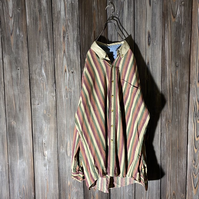 [used]stripe shirt
