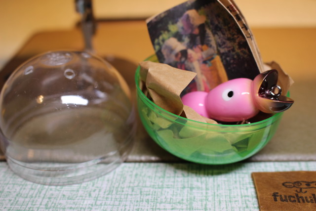 めで鯛ストラップ 【ピンク】