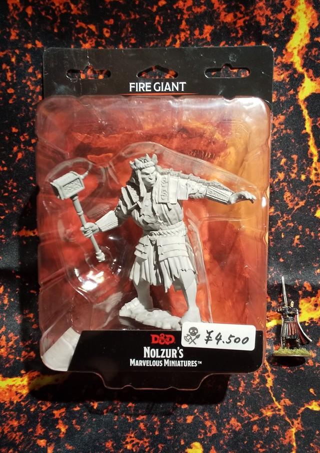 Fire Giant(D&Dオフィシャルミニチュア「Nolzur's Marvelous Unpainted Miniatures」シリーズ)