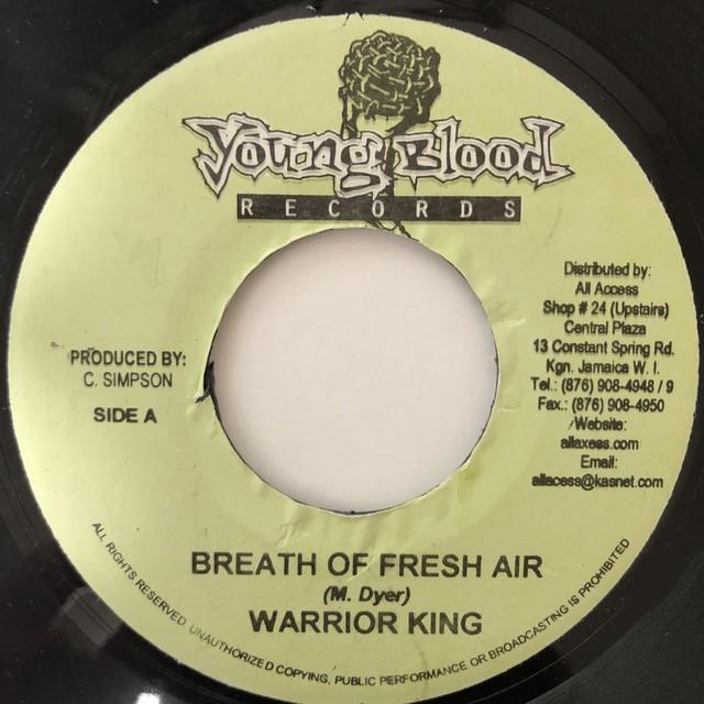 Warrior King - Breath Of Fresh Air【7-20625】