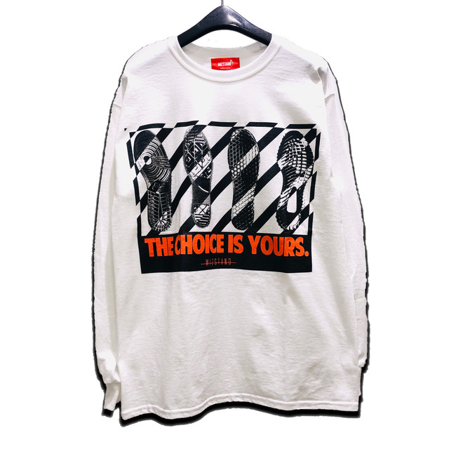 CHOICE IS YOURS L/S TEE