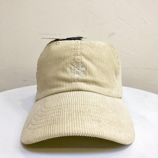 LCR オリジナル CAP(コーデュロイ・ベージュ)