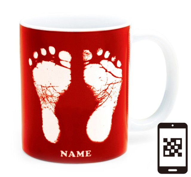 ai mug   A-type (PURPLE) QRコード付き