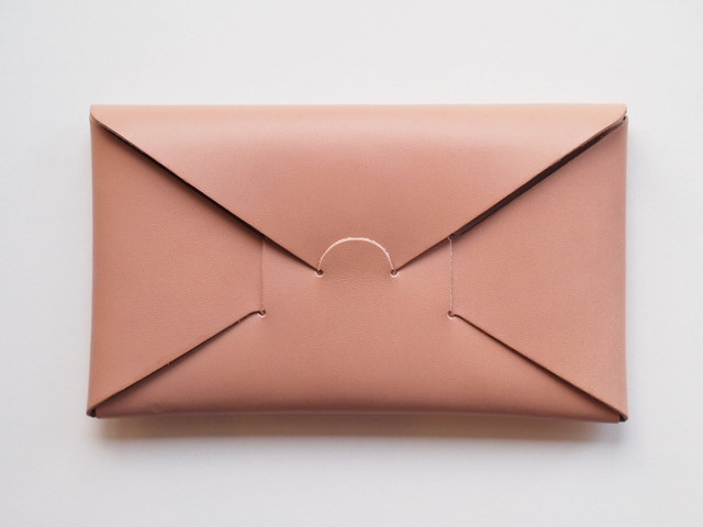 【i ro se】SEAMLESS LONG WALLET 長財布 NUDE