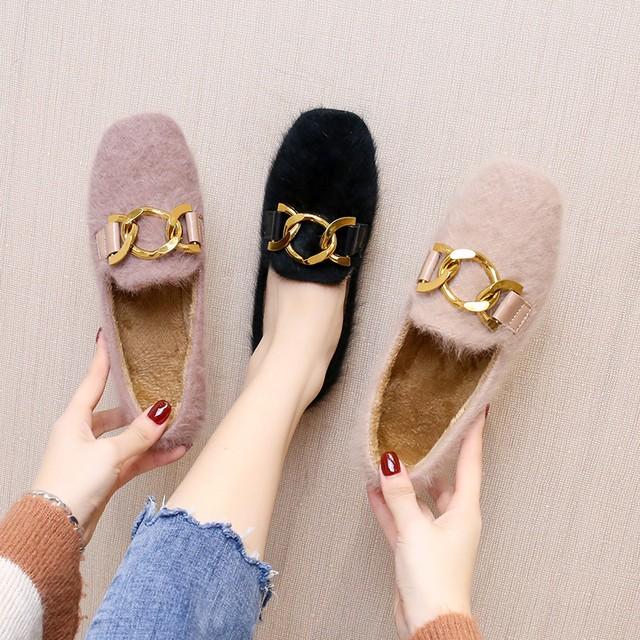 【shoes】合わせやすいヒョウ柄歩きやすいシューズ 24535277