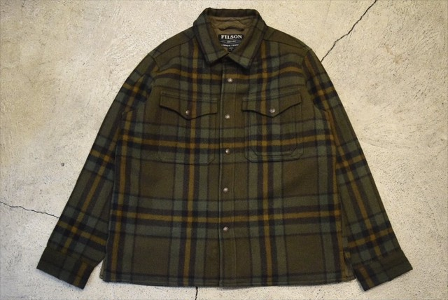 USED FILSON MACKINAW JAC-SHIRT -X-Large J0777