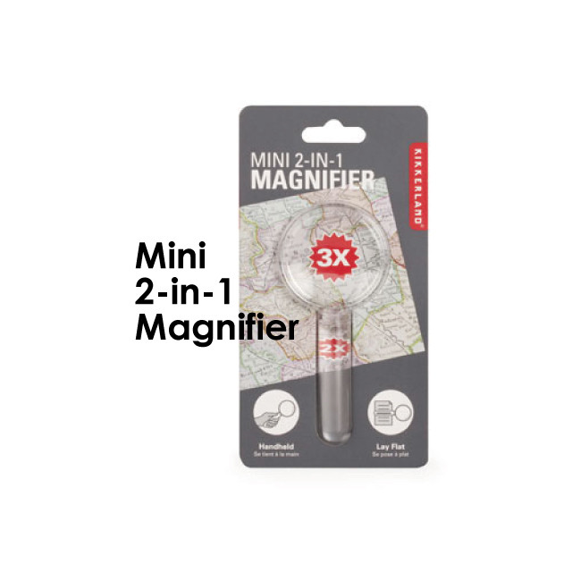 Mini 2-in-1 Magnifier
