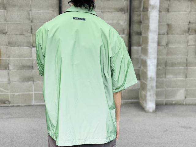 FEAR OF GOD SIXTH COLLECTION NYLON OVERSIZED SHIRT SMALL 130JF6910